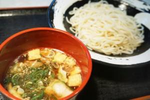 肉汁つけうどん(冷麺)