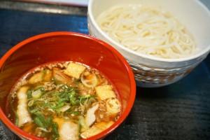 肉汁つけうどん(温麺)